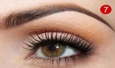 Daytime eye makeup for brown eyes