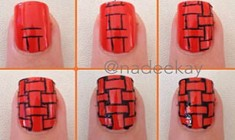 Red Nails Tutorial