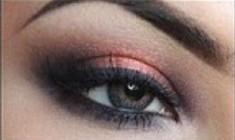 Coral Smokey Eye Makeup Tutorial