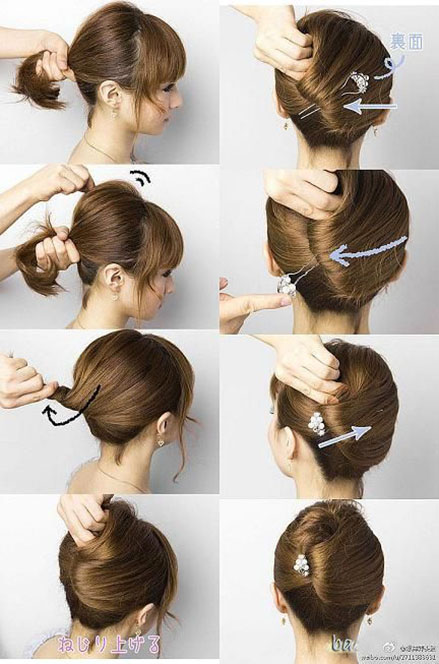 Легкие прически для коротких волос в домашних условиях