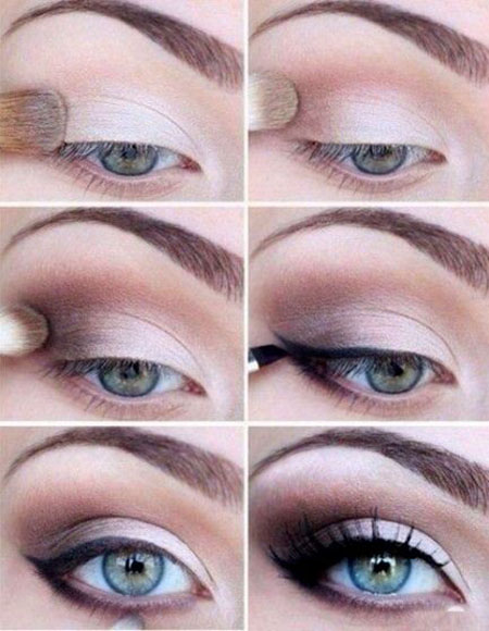 Beautiful Eye Makeup for a wedding