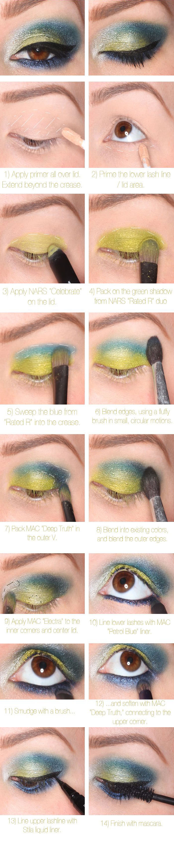 Colorful, Smokey Eye Tutorial